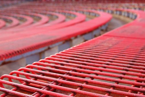 Rock Music「Red Bleachers in Coliseum」:スマホ壁紙(4)