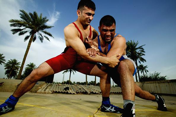 Preparation「Iraq Wrestler Prepares For Olympics」:写真・画像(5)[壁紙.com]