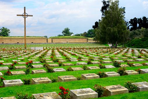 World War II「Terizen Cemetery」:スマホ壁紙(1)