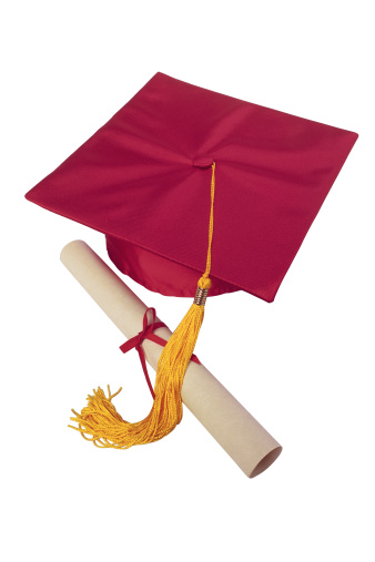Graduation「Mortarboard and diploma」:スマホ壁紙(18)
