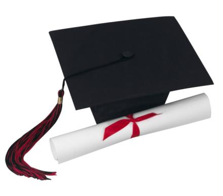 縁なし帽子「Mortarboard and Diploma」:スマホ壁紙(12)