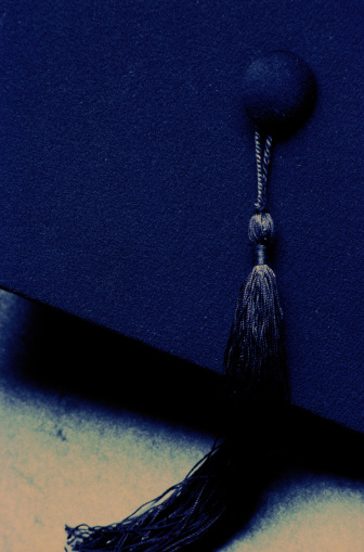 Graduation「Mortarboard Close-Up」:スマホ壁紙(7)