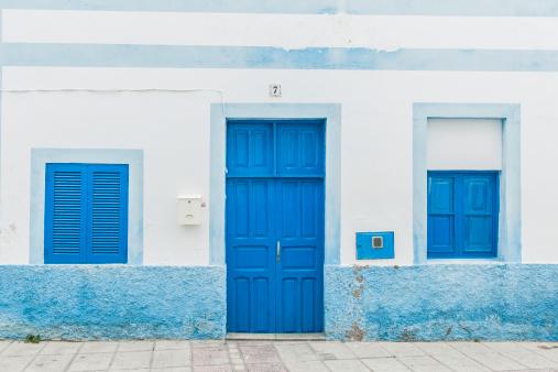 Whitewashed「Puerto de las Nieves, house」:スマホ壁紙(2)