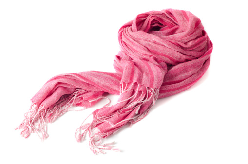 スカーフ「Warm scarf in pink」:スマホ壁紙(12)