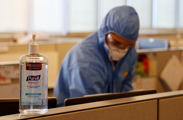 Equipment「U.S. Businesses Disinfect Properties To Stem Spread Of Coronavirus」:写真・画像(7)[壁紙.com]