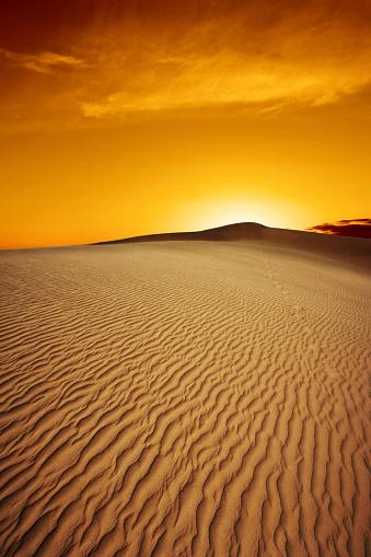 Awe「XL desert sand sunset」:スマホ壁紙(3)
