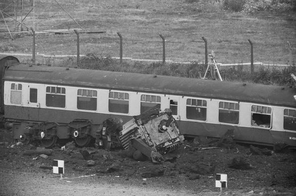 Terry Disney「CEGB Nuclear Flask Train Crash Test」:写真・画像(4)[壁紙.com]