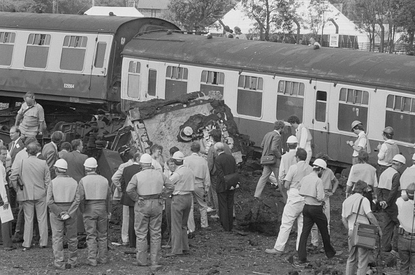 Terry Disney「CEGB Nuclear Flask Train Crash Test」:写真・画像(2)[壁紙.com]
