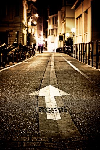 Boulevard「Street in Cannes by night」:スマホ壁紙(2)