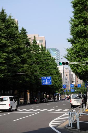 Day「Street in Chiyoda, Japan」:スマホ壁紙(13)