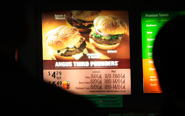 飲食「NYC Begins Enforcement Of Calorie Count Postings At Chain Restaurants」:写真・画像(5)[壁紙.com]
