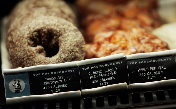飲食「NYC Begins Enforcement Of Calorie Count Postings At Chain Restaurants」:写真・画像(2)[壁紙.com]