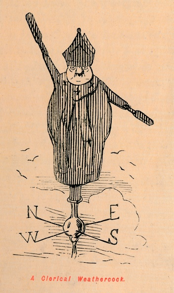 Mitre「A Clerical Weathercock Circa 1860」:写真・画像(4)[壁紙.com]