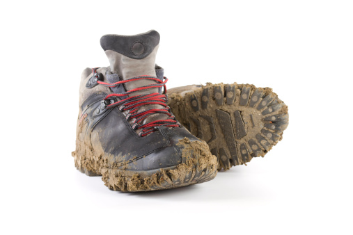 Shoe「hiking dirty boots」:スマホ壁紙(10)