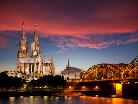 UNESCO「Cologne Cathedral」:スマホ壁紙(1)