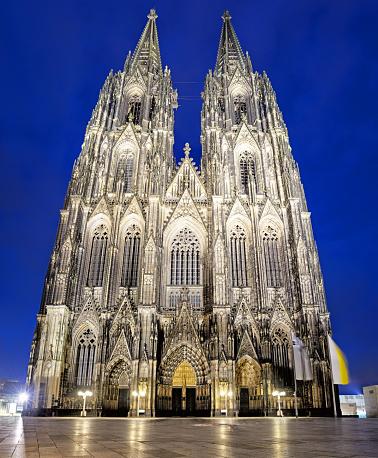 UNESCO「Cologne Cathedral facade」:スマホ壁紙(3)