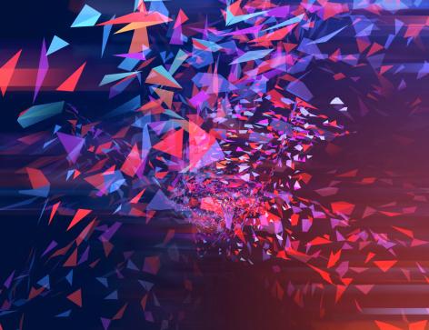 Chaos「Trixel 03」:スマホ壁紙(5)