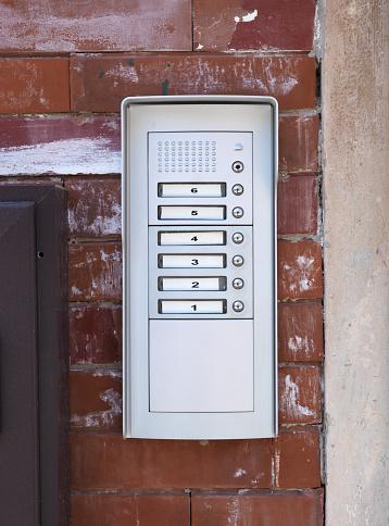 Doorbell「apartment numbers and push button door buzzer」:スマホ壁紙(8)