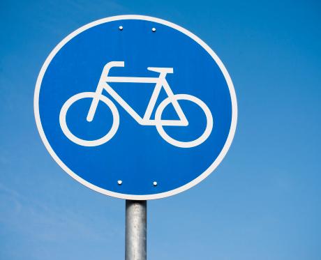 Bicycle Lane「Simple Bicycle Sign」:スマホ壁紙(12)