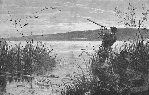 Hitting「Duck-Shooting On Saratoga Lake」:写真・画像(17)[壁紙.com]