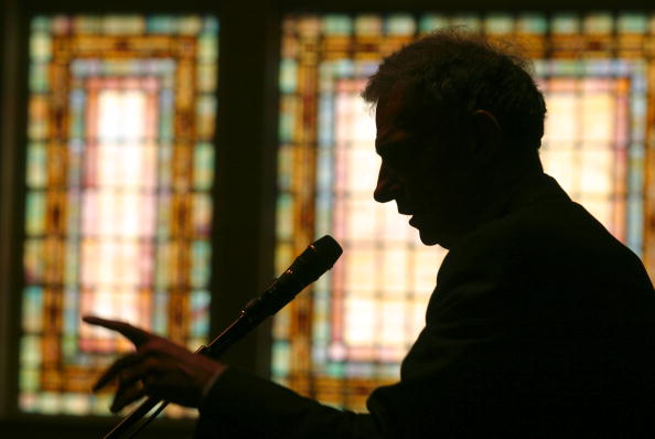 Public Speaker「Ralph Nader Campaigns In Seattle」:写真・画像(1)[壁紙.com]
