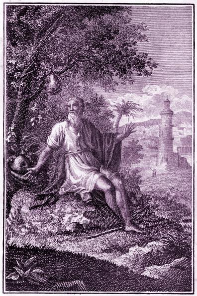 Old Testament「Bible Story - Jonah under the gourd tree, outside the city of Nineveh. Jonah IV, 5-11.」:写真・画像(17)[壁紙.com]