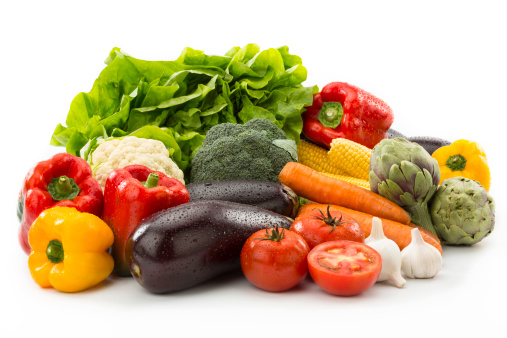Raw Food「Vegetables Composition. Clipping Path included」:スマホ壁紙(10)