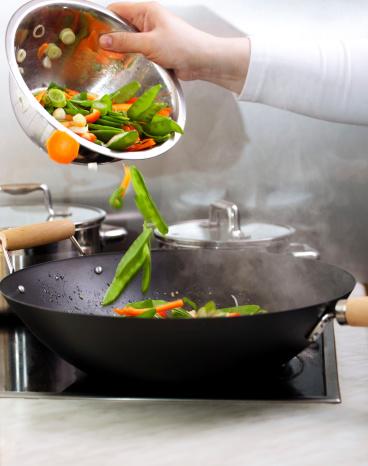 Wok「Vegetables Dish」:スマホ壁紙(15)