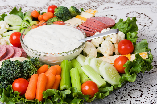 Celery「Vegetables with Meat and Cheese Party Platter」:スマホ壁紙(11)