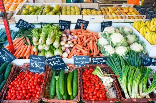 Street Market「Vegetables at the market」:スマホ壁紙(7)