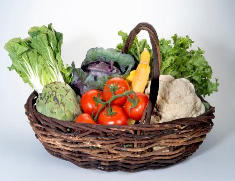 Vegetables「Vegetables in basket」:スマホ壁紙(16)