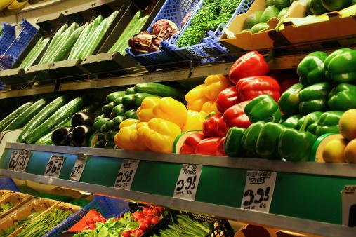 Supermarket「Vegetables in the Market」:スマホ壁紙(5)