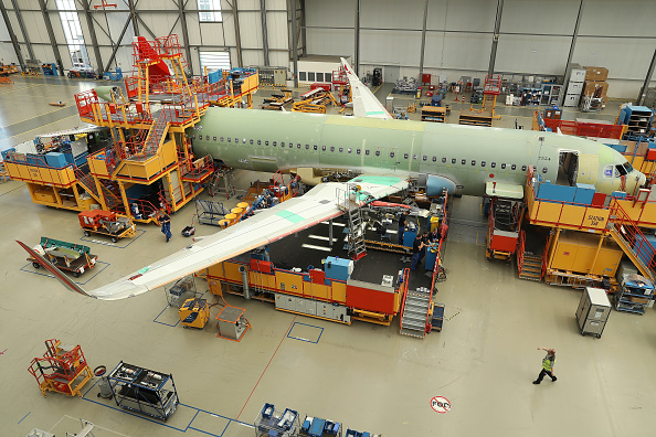 Hamburg - Germany「Airbus A320 Assembly At Hamburg Factory」:写真・画像(15)[壁紙.com]