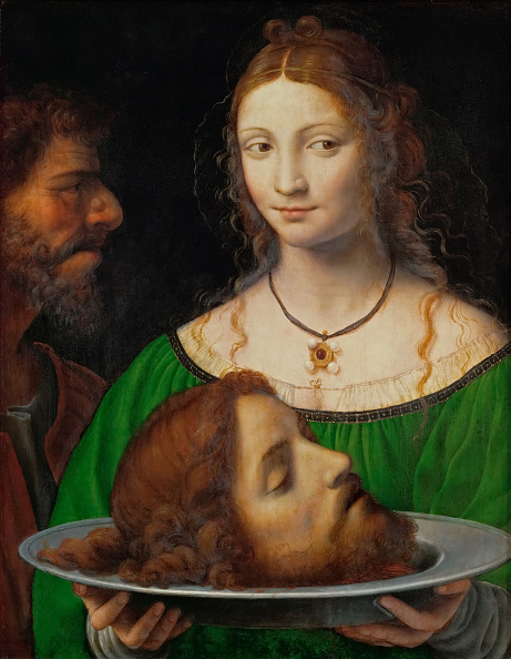 Salome - Daughter of Herodias「Salome With The Head Of Saint John The Baptist」:写真・画像(8)[壁紙.com]