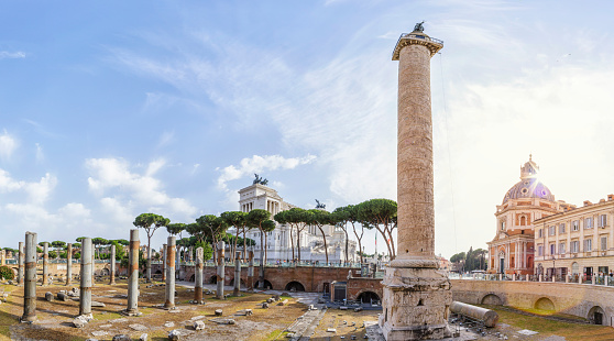 Ancient Civilization「Trajans Column, Rome, Italy」:スマホ壁紙(18)