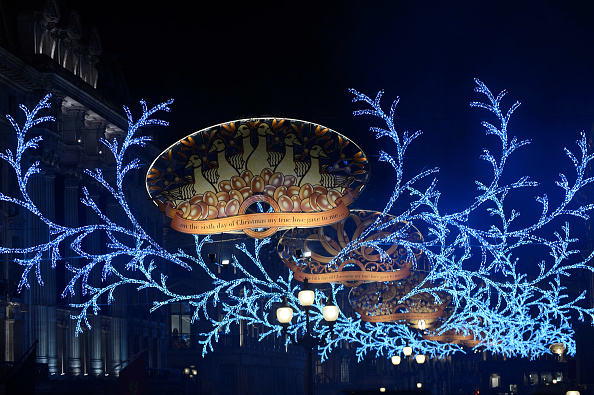 2012 Summer Olympics - London「Regent Street Christmas Lights Switch On」:写真・画像(12)[壁紙.com]