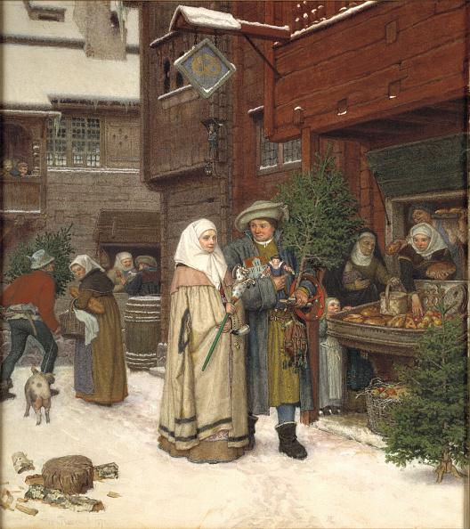 1870-1879「The Christmas Fair」:写真・画像(11)[壁紙.com]