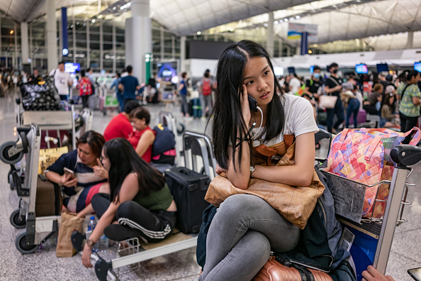 Hong Kong International Airport「Unrest In Hong Kong During Anti-Government Protests」:写真・画像(13)[壁紙.com]