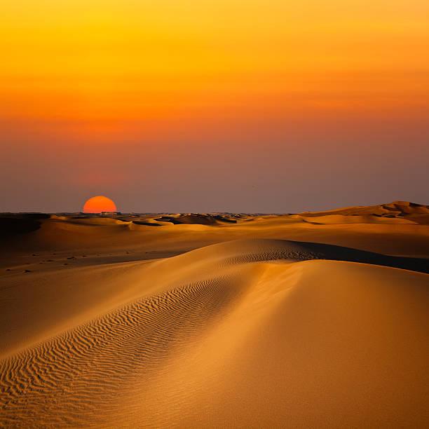Sand Dune Sunset:スマホ壁紙(壁紙.com)