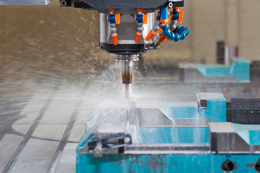 Spraying「CNC milling cutter」:スマホ壁紙(5)