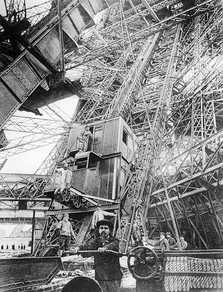 Eiffel Tower「Eiffel Elevator」:写真・画像(17)[壁紙.com]