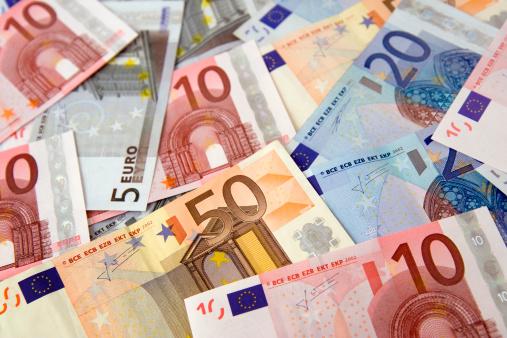 Number「Euro bills」:スマホ壁紙(12)
