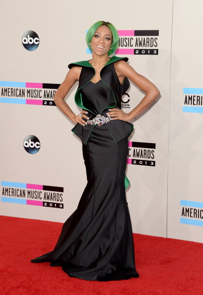 Green Hair「2013 American Music Awards - Arrivals」:写真・画像(15)[壁紙.com]