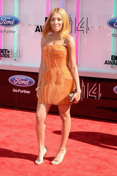 Strapless Dress「BET AWARDS '14 - Arrivals」:写真・画像(13)[壁紙.com]