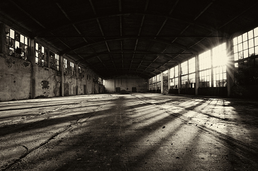 Spooky「Abandoned factory building」:スマホ壁紙(14)