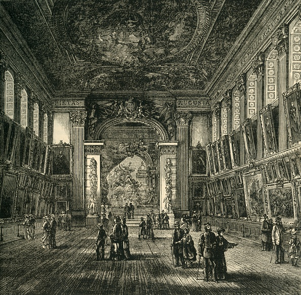 Ceiling「The Painted Hall」:写真・画像(3)[壁紙.com]