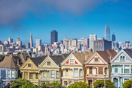 cloud「サンフランシスコ、カリフォルニア州の塗られた女性。アメリカ」:スマホ壁紙(14)