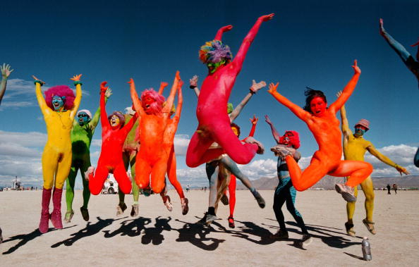 伝統的な祭り「Burning Man Festival in Nevada Desert」:写真・画像(0)[壁紙.com]