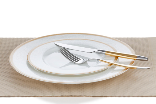 Fork「Luxury Golden Plate Setting」:スマホ壁紙(18)