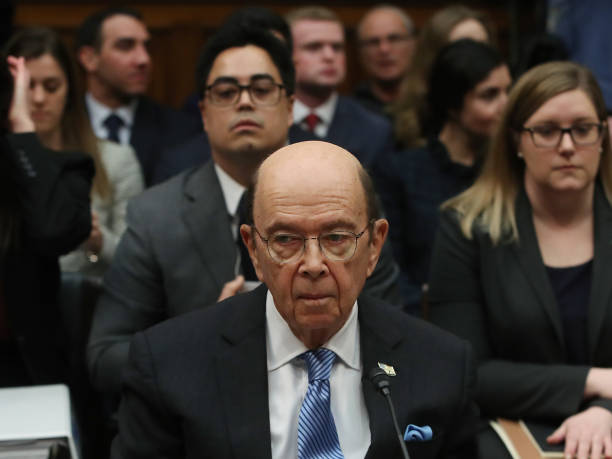 Commerce Secretary Wilbur Ross Testifies Before House Oversight Committee On Census:ニュース(壁紙.com)
